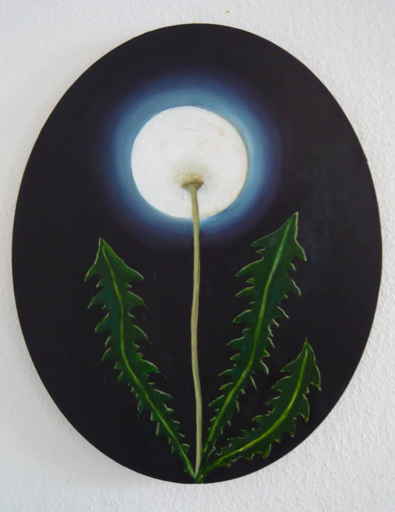 Mond 2 ,2013,Öl auf Leinwand, 40 x 50cm