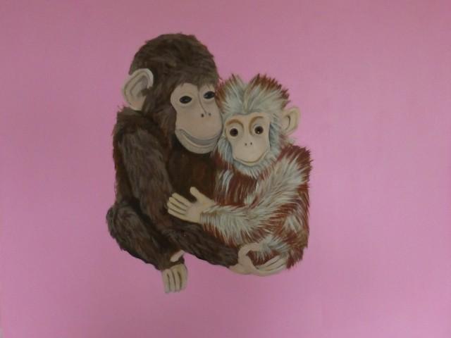 Affenliebe…