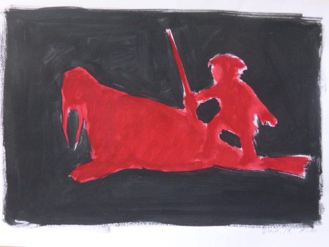Inuit Gouachen